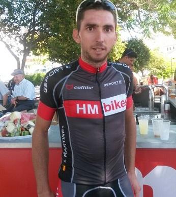 Iván Martínez vencedor de la prueba