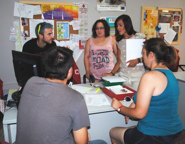 visita concejala Cruz Roja