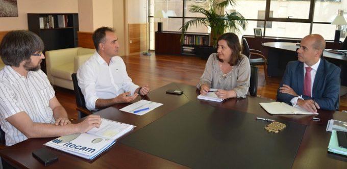 Economía Visita Itecam Parra,Alberca,Franco y Rosell