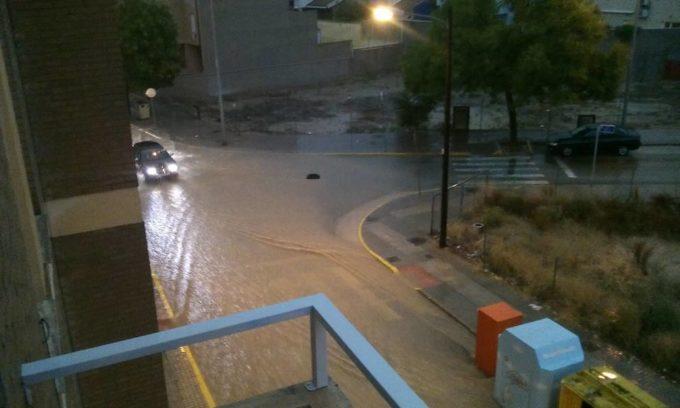 almansa inundada