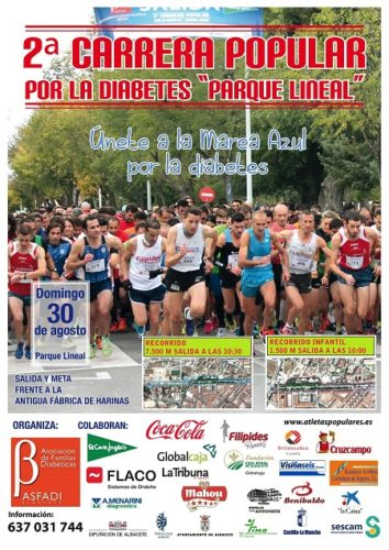 cartel 2 carrera popular