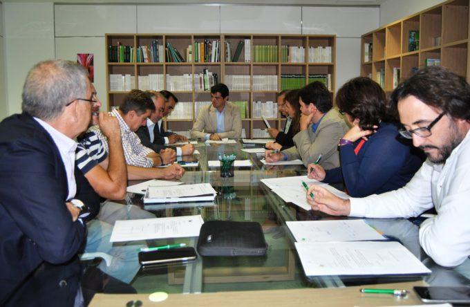 Foto.Constitución del Patronato para la Fundación 'Jardín Botánico de Castilla-La Mancha'.29-9-15