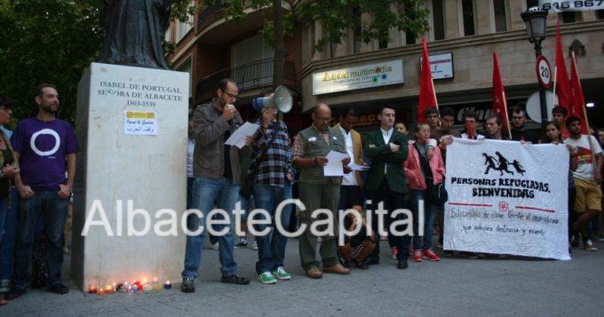 Imagen de archivo de la concentración convocada por ConMilAB el pasado 6 de septiembre.