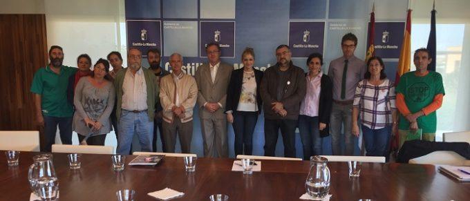 foto reunión consejera de Fomento con PHA