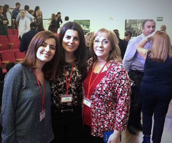 De izq. a dcha. Mar Carrión, Elena Fuentes y Ana R. Vivo (1)