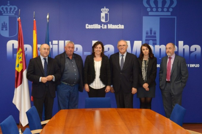 Foto Consejería Economiía, Empresas y Empleo ASAJA