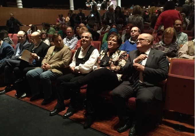 LOS DELEGADOS DE LA JCCM CIUDAD REAL Y ALBACETE EN EL ACTO