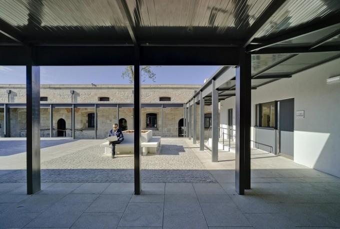 Nueva sede de la universidad de Gibraltar.