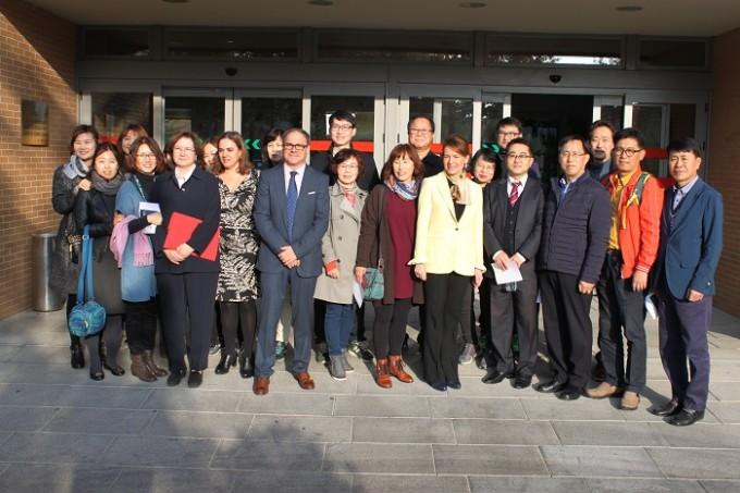 Delegación Corea del Sur