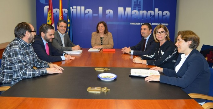 Reunión consejera Economía con Fundación Laboral de la Construcción