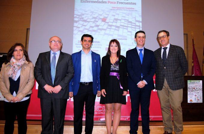 Foto.Inauguración II Jornadas de Enfermedades Poco Frecuentes.21-4-16