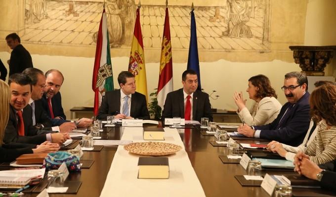 Un instante del Consejo de Gobierno celebrado este martes en Torrijos