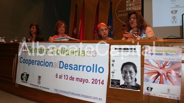 Imagen de archivo. Rosa María Calaf abrió Semana Solidaria de Albacete en 2014