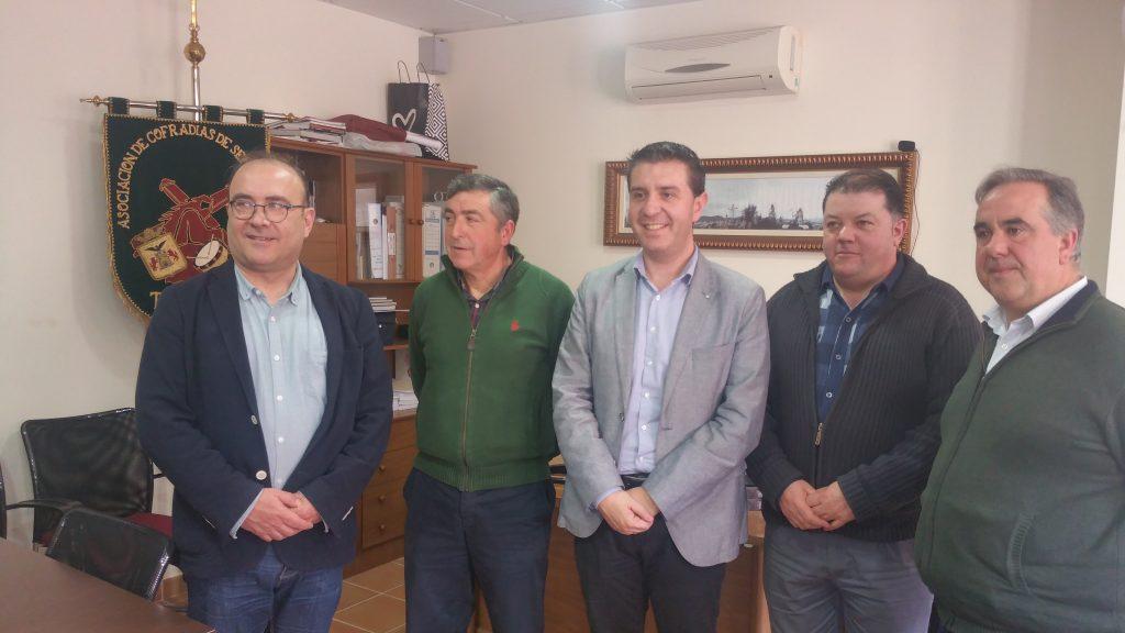 La Diputación de Albacete apoyará a la Asociación de Cofradías y a la Sociedad Musical de Tobarra