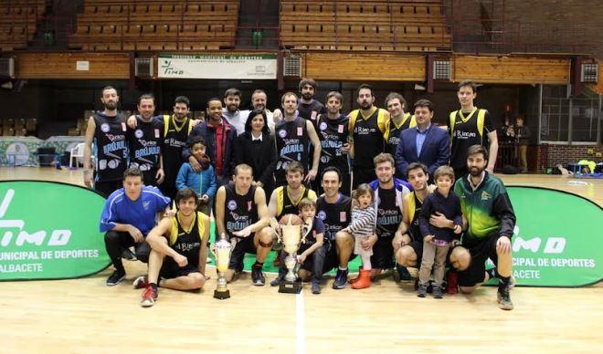 Albacete celebra la final de la Copa IMD de Baloncesto