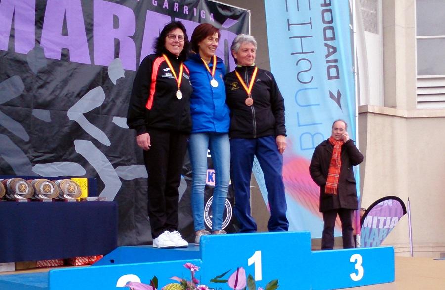 El Club de Atletismo Albacete-Diputación logró cinco nuevos podios en el Campeonato de España de Media Maratón