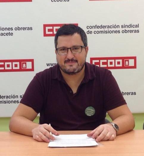 Alberto Jiménez, reelegido secretario general del sindicato de Enseñanza de CCOO de Albacete