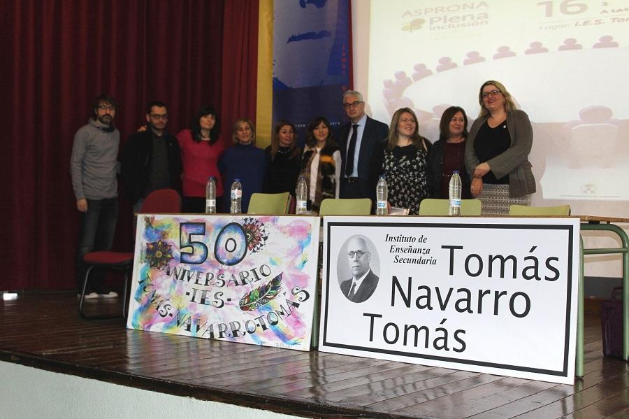 Alberto Reina asiste a la mesa redonda 'El vivero de la inclusión' organizada por Asprona, Amiab y Afaeps