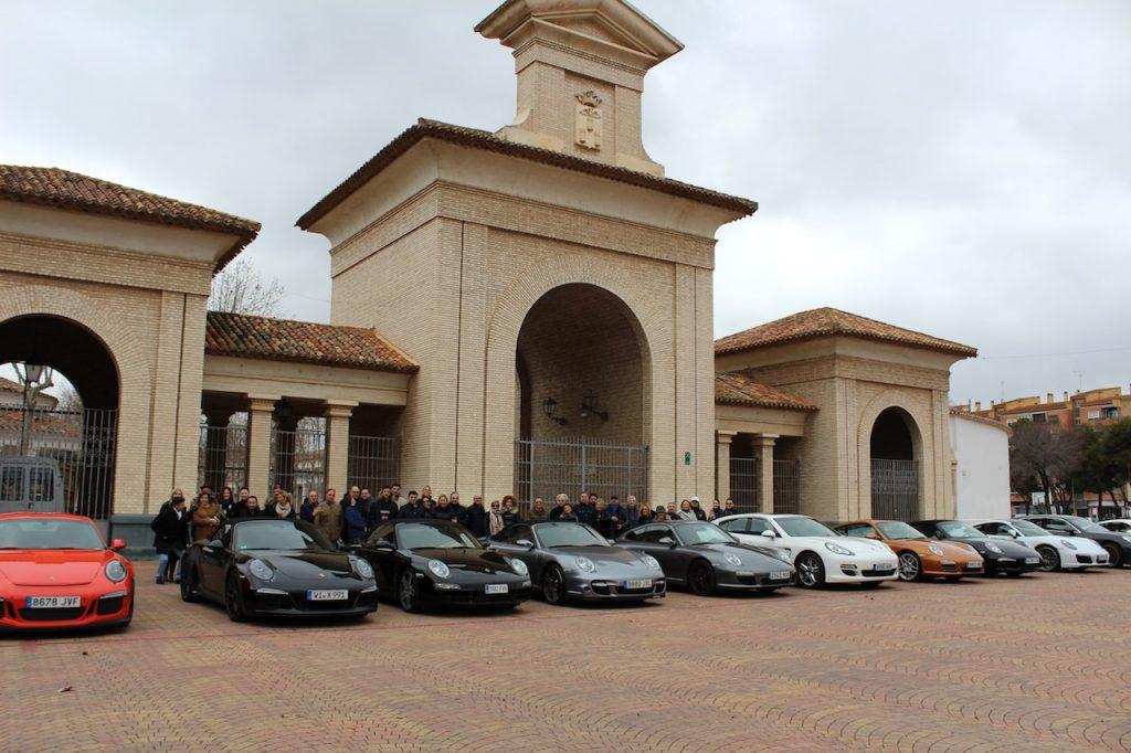 Un club de Porsche España pasa el fin de semana en Albacete