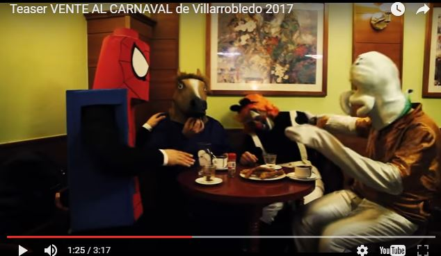 El vídeo promocional del Carnaval de Villarrobledo triunfa en la red