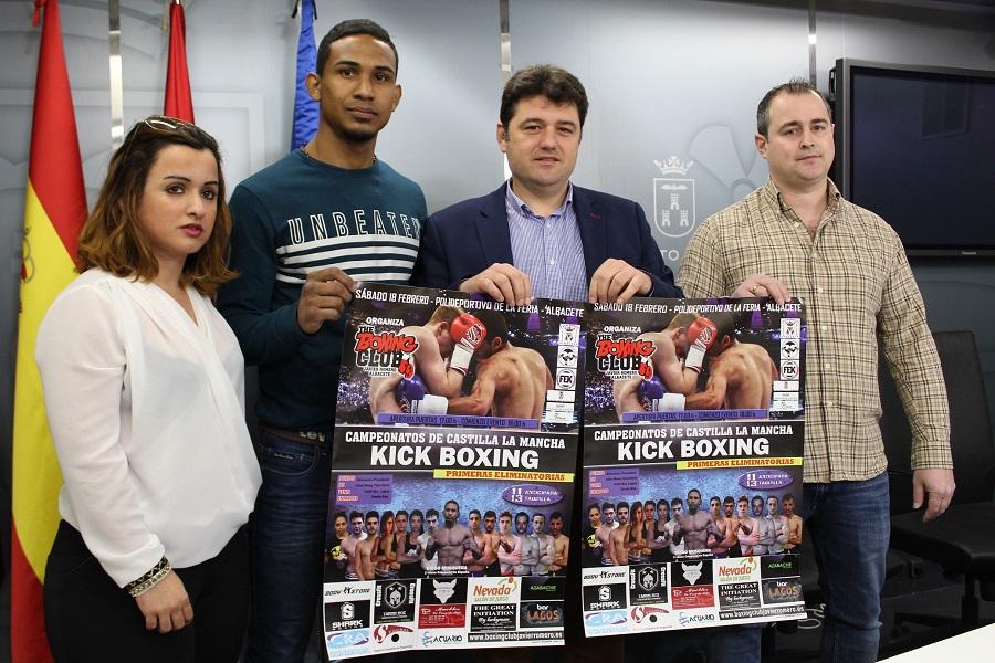El campeonato de Castilla La Mancha de Kick Boxing llega a Albacete