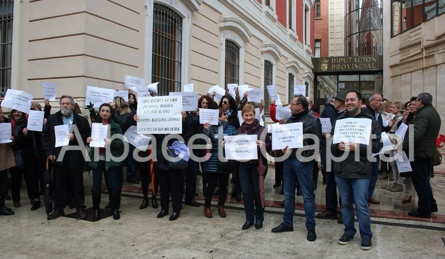 CCOO pide responsabilidad a Ganemos IU ante la situación de los trabajadores de la Diputación