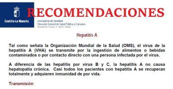 """Brote de Hepatitis A:  La Junta indica que el agua de Albacete es """"perfectamente potable"""""""