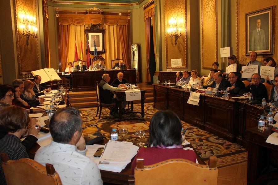Ganemos alerta de la desaparición de las grabaciones del Pleno del pasado día 10