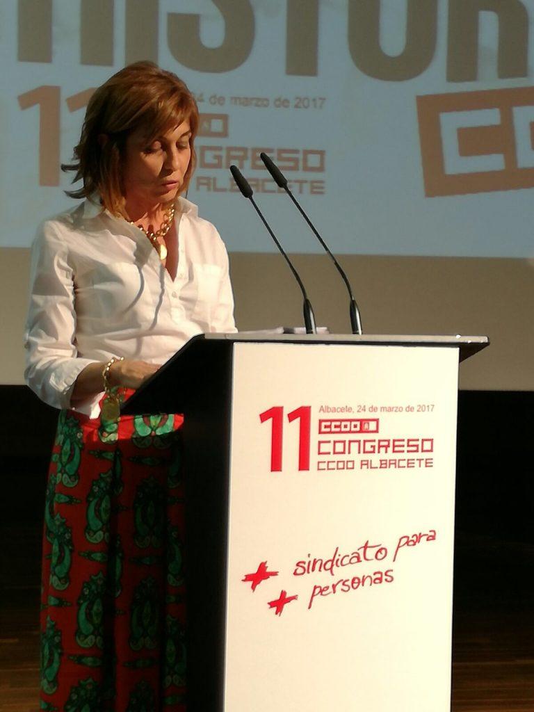Carmen Juste, nueva secretaria provincial de CCOO Albacete