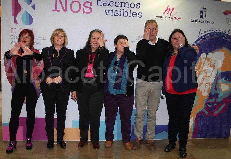 Las imágenes del Día de la Mujer celebrado en Albacete