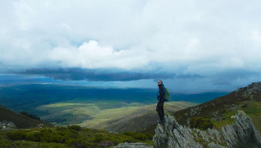 Bauti, el albaceteño que sube montañas en apoyo a colectivos sociosanitarios
