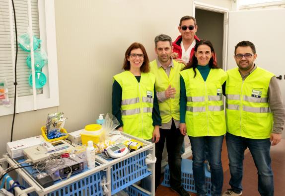 El Hospital de Villarrobledo instala dos Puntos de Atención a Urgencias Médicas durante el Viña Rock