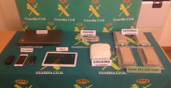 Golpe al tráfico de drogas en Albacete