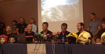 Los bomberos de Albacete denuncian que no se les movilizó en el incendio de Yeste hasta pasadas 48 horas