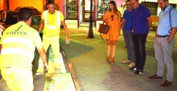 Una campaña para evitar atropellos por las distracciones de peatones con el móvil en Villarrobledo