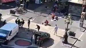 El atentado en Las Ramblas de Barcelona deja 13 muertos y más de un centenar de heridos