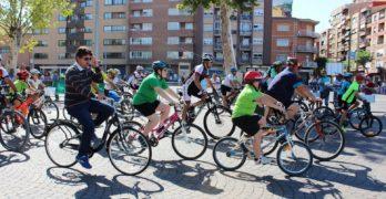 1.500 albaceteños participan en el acto que cierra la Semana Europea de la Movilidad