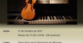 """""""Cita con la música clásica"""" en la Diputación de Albacete"""