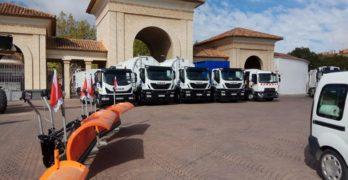 Nueva flota de vehículos para mantener más limpia la ciudad de Albacete